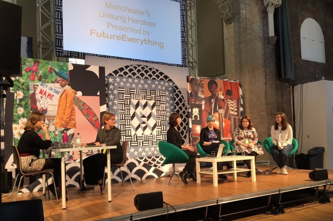 Manchester's Unsung Heroines event
